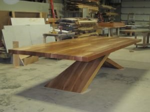 Custom Sycamore Table