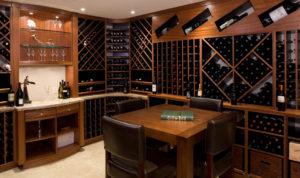 Custom Wineroom Cabinets