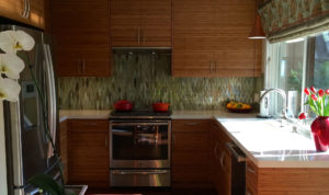 Residential kitchen cabinetry