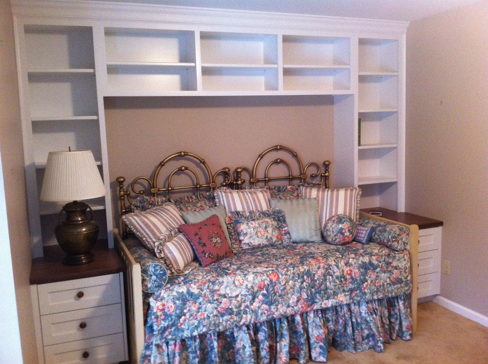 Guest Bedroom Storage | Feist Cabinets and Woodworks, Inc.