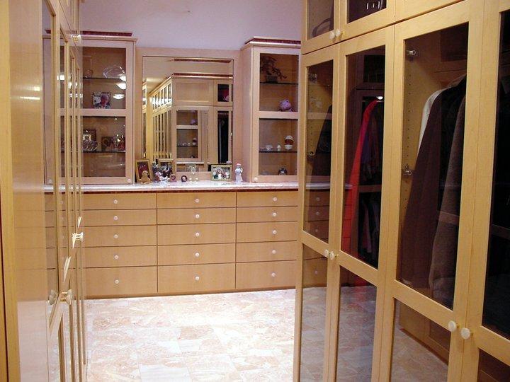 Big Maple Bathroom Closet