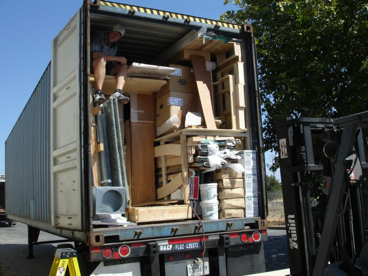 Feist Cabinets Truck