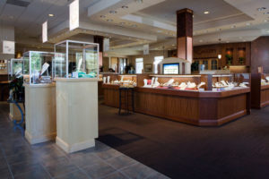 Jewelry store displays