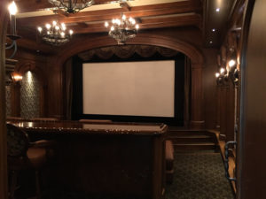 Family Theater Cabinetry