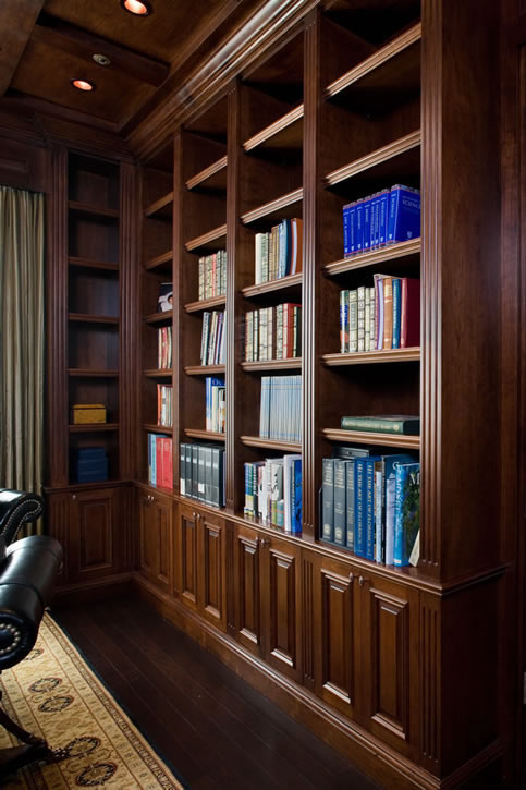 Library cabinets