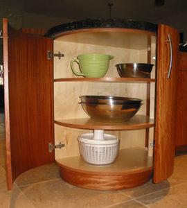 Radius Cabinet Storage