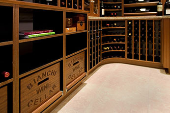 Custom wineroom