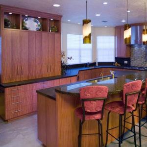 Modern kitchen cabinetry