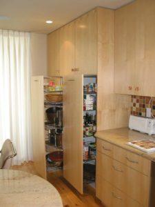 Contemporary Maple Kitchen Cabinets