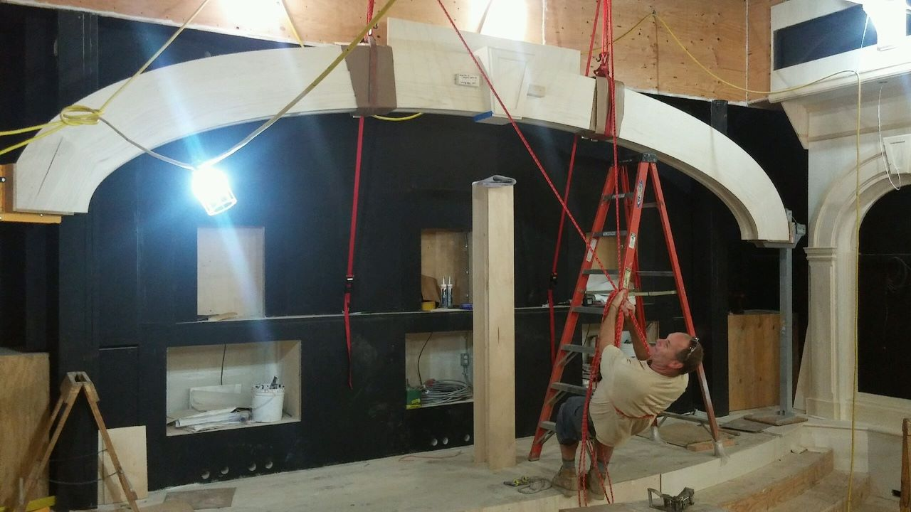Mantle Installation