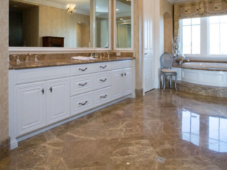 Painted Bathroom Vanity Cabinets