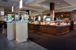 Jewelry store displays