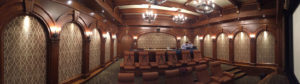 Theater with Poplar Arches, Corbels, and Wall Panels.