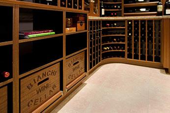 Custom wineroom