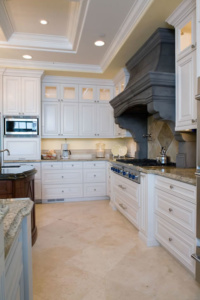 Traditional painted cabinets
