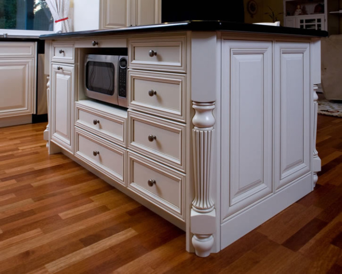 Kitchen remodel goes traditional