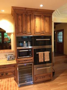 Integrated Alder Cabinetry