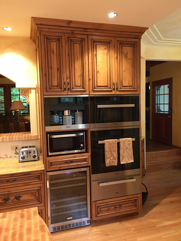 kitchen cabinets restoration integrated alder cabinetry feist cabinets and woodworks 21117
