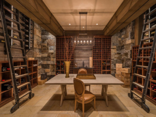 Alder Wine Room Storage